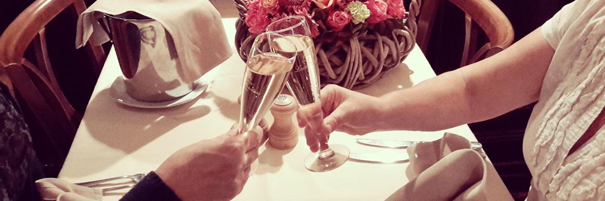 Sfeer tafel restaurant Molensteen